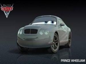 """Принц Уильям в """"Тачках-2"""""""